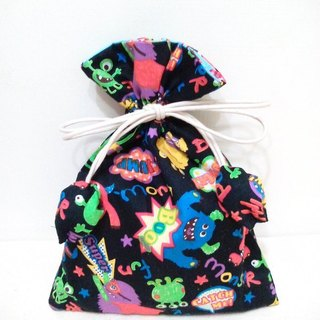 Monster Carnival * cute fabric pouch