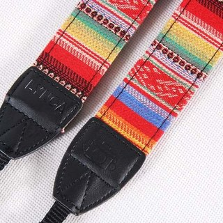 A MIN Mexico rainbow nation tide camera strap -204