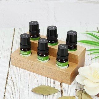[Herbal Truth] Six-frame Wooden Essential Oil Group (10ml x6)