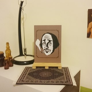[Wily Mr. Shakespeare] A5 notebook
