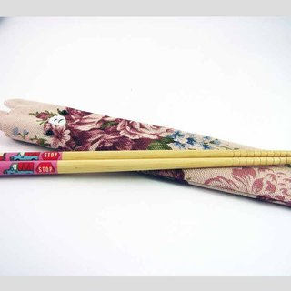 "Cheerful. ""Portable chopsticks sets / green chopsticks / chopsticks / tableware"" classical powder"