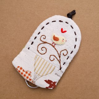 Little Yellow Bird Embroidery Wallets
