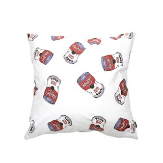 Filter017 Soup Can Pattern Pillow 湯罐Pattern抱枕