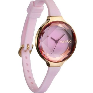 {Rumba Time} in New York fashionable watch brand Orchard Gem - Pink