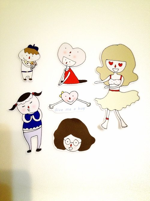 Confessions Series 02 sticker set