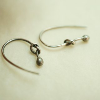 【janvierMade】Sprout Sterling Silver Earrings / Minimalist Sprout Earrings / 925 Sterling Silver Handmade