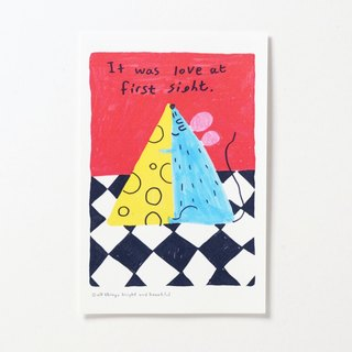Love at first sight Postcard