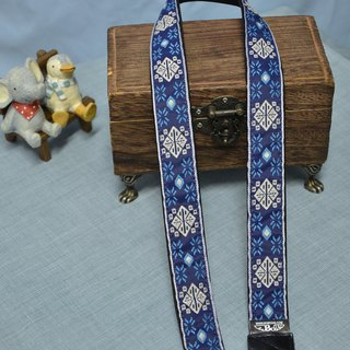 Blue decorated Shuya strap camera strap Ukulele Camera Strap