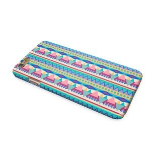 Blue Navajo Tribal Pattern 3D Full Wrap Phone Case, available for  iPhone 7, iPhone 7 Plus, iPhone 6s, iPhone 6s Plus, iPhone 5/5s, iPhone 5c, iPhone 4/4s, Samsung Galaxy S7, S7 Edge, S6 Edge Plus, S6, S6 Edge, S5 S4 S3  Samsung Galaxy Note 5, Note 4, Note