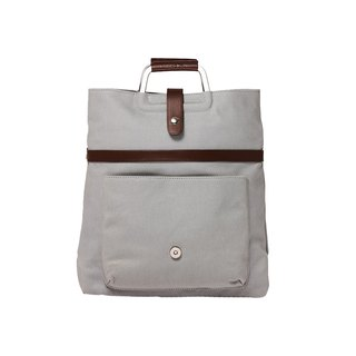 Amore Aigad Portable Back Side Backpack - Grey