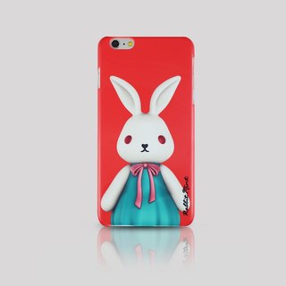 (Rabbit Mint) Mint Rabbit Phone Case - Bu Mali Merry Boo - iPhone 6 Plus (M0001)