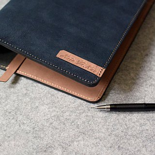 YOURS handmade leather leather loose-leaf notebook / jumper formula A6-Size yolk color with original leather +