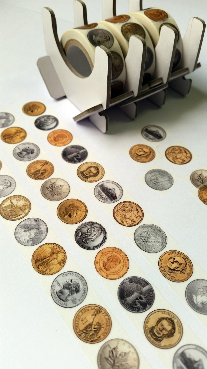 Masking Tape COINS