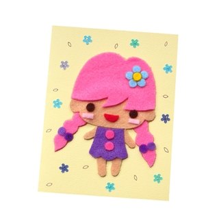 Handmade Card Universal Card _ Character Doll E ... Birthday Card, Valentine Card, Thank You Card