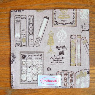 Small book dessert mat, placemats
