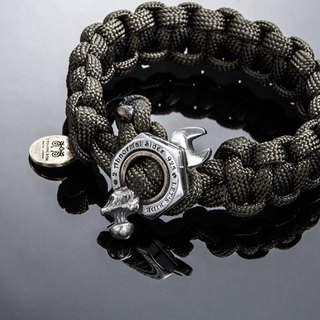 Nut Wrench Paracord Survival Bracelet | nut wrench survival bracelet