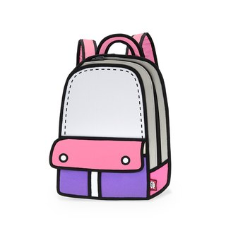 JumpFromPaper Adventure Pink Backpack