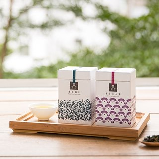 [Mountain House] Gold Point Design Tea Gift Box (Frozen Top Oolong + Oriental Beauty Tea) Hot Products