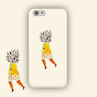 ▷ Umade ◀ slowly budding dream [iPhone7 (i7, i7plus, i6, i6s, i6plus, i6splus, i5se, i5s, i5c,) / Android (Samsung, Samsung, HTC, Sony) Phone Case / Accessories - matte hard shell - artists] Chichi Huang
