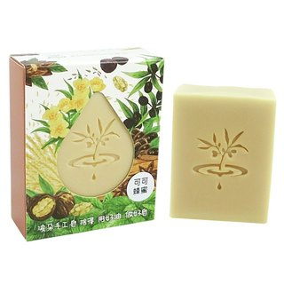 [Duo] wave PoDo cocoa honey moisturizing soap - into a single gift set (Face Body Care soap)