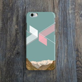 Mountain, - Designer iPhone Case. Pattern iPhone Case. One Little Forest
