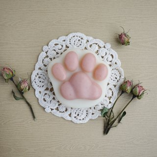Shea Butter Cat Paw Soap (For Body) – Rose