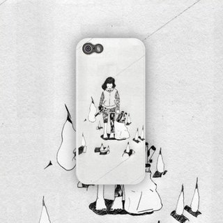Line-pencil on paper / 2012 / phone case