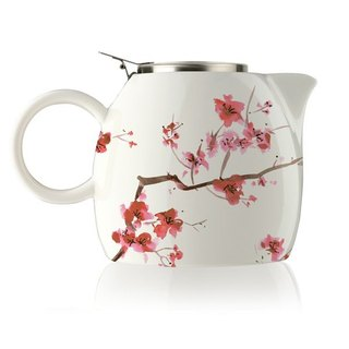 Tea Forte Ceramic Teapot - Cherry Blossoms