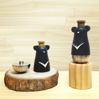 Wen Sen Di - Taiwan's unique animal Taiwan Black Bear kazoo KAZOO doll