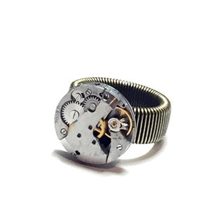 1960 Steampunk steam punk movement Ring Ring round
