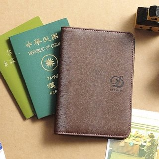 Dreamer by Dreamer Passport Case - Dark Brown
