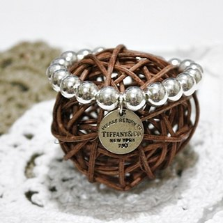 Sterling silver elastic bracelet <Call Me Tiffany Girl> =&gt;Limited X1 #时尚#潮流