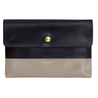 [Japanese] Prendre LABCLIP series File case pouch (button) Black
