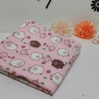Bleater pink towel double gauze handkerchief saliva towel absorbent towel