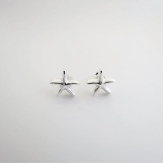 Starfish - Mermaid princess series (925 silver earrings) - Cpercent jewelry