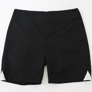 Taiwanese designer brand popular men's fashion design avant-garde men's black shorts skirts
