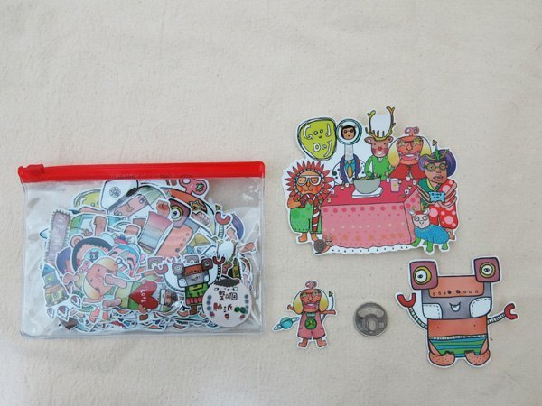 All-stickers set [ Barefoot family ] 65pc