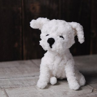Pets avatar 13 ~ 15cm [feiwa Fei doll handmade shaving Edition] Maltese Pet Doll (Welcome to order your dog)