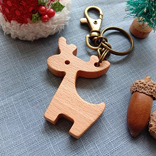 【Christmas gift】 key ring │ Christmas elk