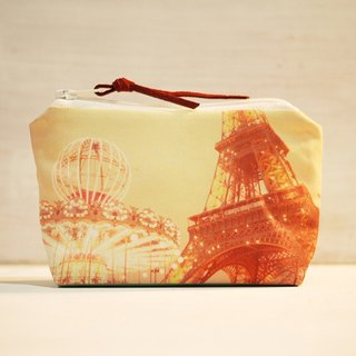 [Good] to travel purse ◆ ◇ ◆ Tower and Carousel ◆ ◇ ◆