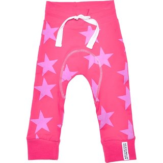 [Sweden] made of organic cotton harem pants _ red tide stars (for 6M-6Y)