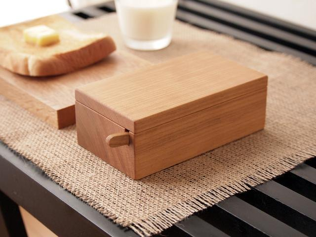 Wooden Butter dish