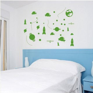 Smart Design Creative wall stickers Incognito ◆ Space World (2)
