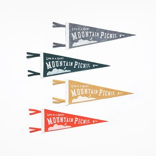 Mountain Picnic pennant