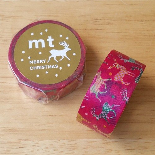 Mt and paper tape 2015 Christmas [color elk (MTCMAS59)] finished product