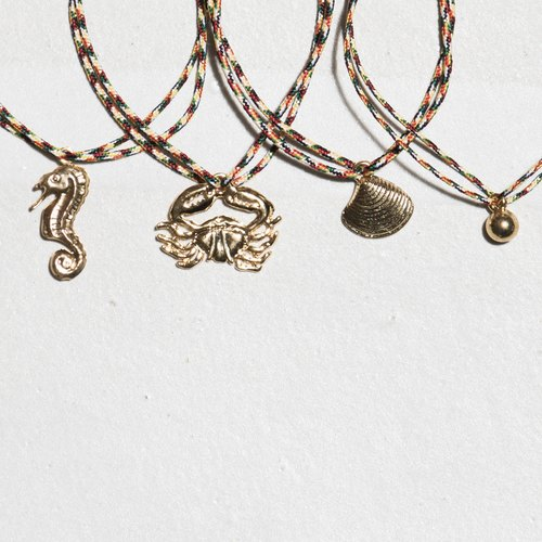 \ GOOD GOOD LUCK / lucky bracelet _ hippocampus / crab / Shell / Pearl