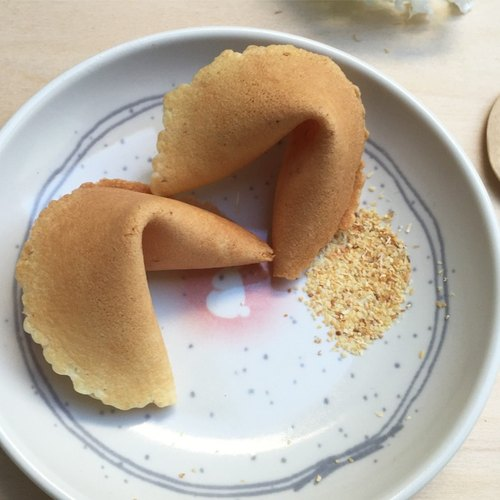 [Every day] fortune fortune cookie message - handmade pesto flavored fortune cookies baked FORTUNE COOKIE
