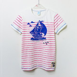 Sailor cotton short-sleeved T-shirt
