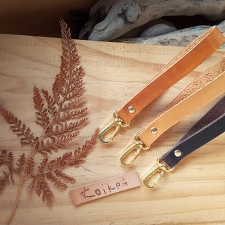 [Koike Pao firm] husband と wife leather strap leather lanyard custom wedding was small leather marriage