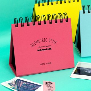 Boge stationery x geometric wind (Polaroid table on the stage] four colors